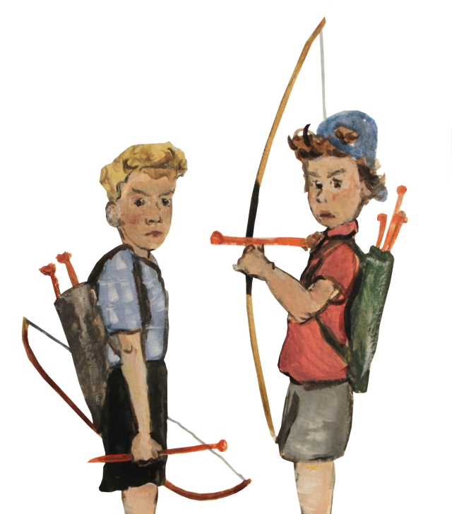 neighbor-boys-bows-and-arrows