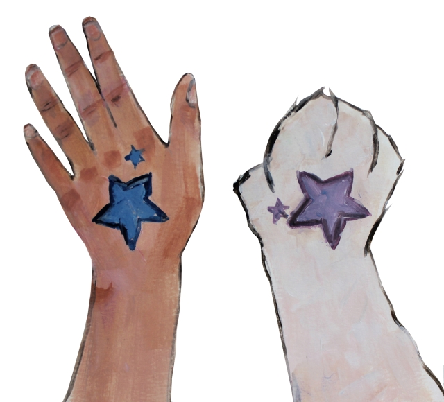 star-tattoo-paws